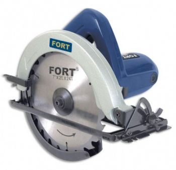 Serra Circular Fort FT-1008 - 180mm - 1050 Watts - 6000 RPM