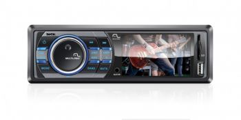 Auto Rádio Multimídia MP5 Multilaser Rock P3180 - 3'' LCD - USB/SD/AUX - MP3/MP4/MP5 - Reproduz vídeos AVI/MP4/TS/ASF/FLV/PMP/RMVB e MPG