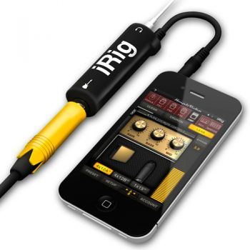 Adaptador De Guitarra Amplitube Irig Para Iphone Ipad Ipod