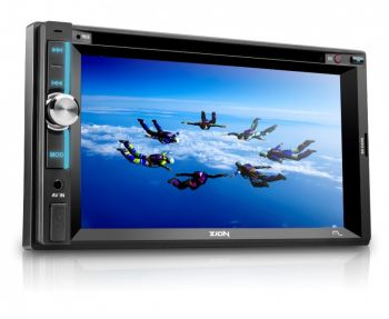 Som Automotivo Zion Multilaser LCD 6.2'' Entrada Auxiliar USB/SD/CD/DVD Player P3307