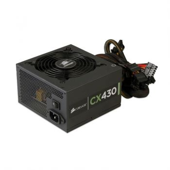 Fonte Corsair CX-430W - CP-9020046-WW 80 Plus Bronze