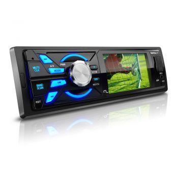 "Som automotivo Multilaser Rock P3227 - Tv Digital - LCD de 3"" - USB/AUX/SD/FM"