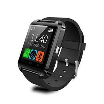 Smartwatch U8 Preto Relógio Inteligente Bluetooth Android Iphone
