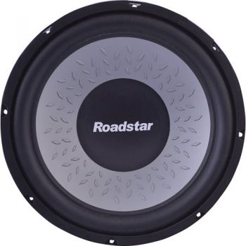 Subwoofer 12'' 4 Ohms 200W RMS RS1244 Preto ROADSTAR