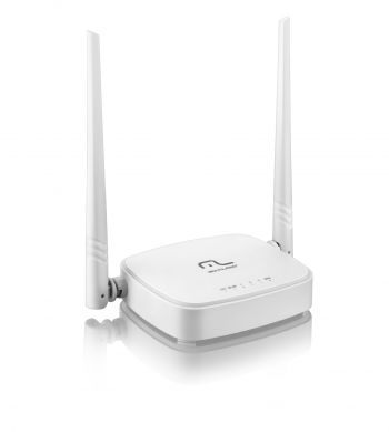 Roteador Wireless Wifi 300Mbps com 2 antenas - Multilaser RE160