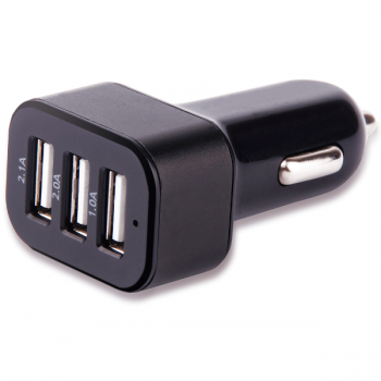 Carregador Automotivo Multilaser com 3 Saidas USB CB074