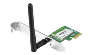Placa Rede Para Desktop PCI Express 2.0 Wireless Wifi N 150Mbps WPN200 Intelbras 4710003