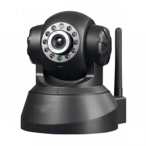 Camera IP Wi-Fi Infra/PanTilt e Controle Via Internet RM383