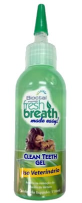 TROPICLEAN FRESH BREATH CLEAN TEETH GEL (GEL REMOVEDOR DE TÁRTARO) 118ML