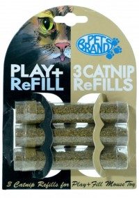 CATNIP COM 3 REFIS  - PET BRANDS