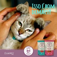 LUOPET SNACKS PARA GATO FISH´S 40G