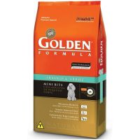 GOLDEN FÓRMULA ADULTO MINI BITS FRANGO E ARROZ 10KG