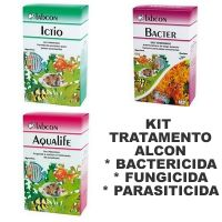 ALCON KIT TRATAMENTO ICTIO + AQUALIFE + BACTER 15ML